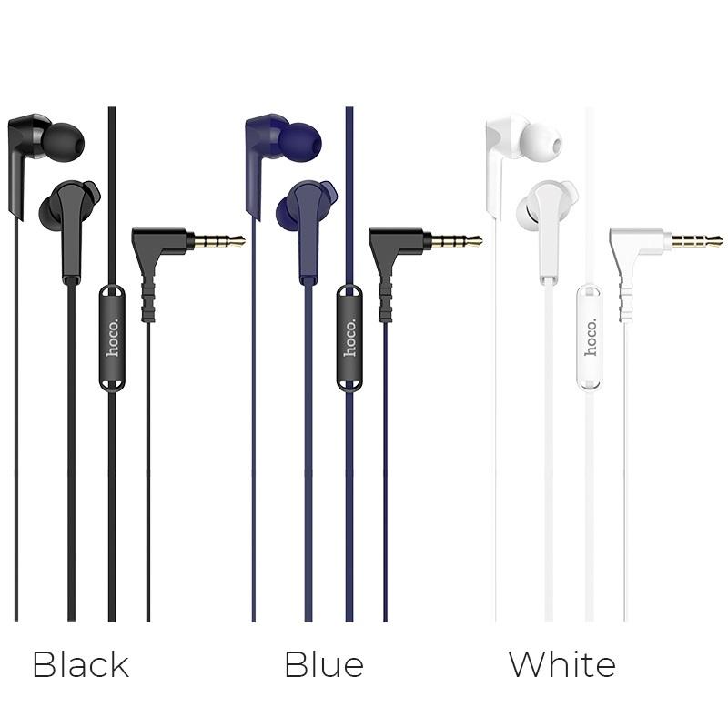 Headphones HoCo M72 admire universal earphones Blue